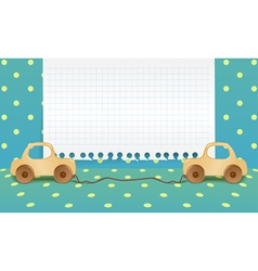 Boyish Toys Background vector