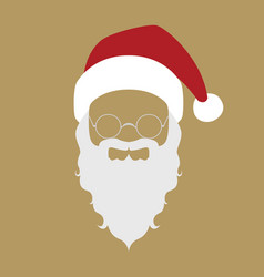 Santa claus portrait vector