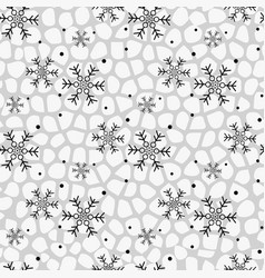 Seamless winter pattern background of vector