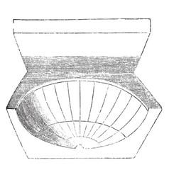 Sun dial vintage vector