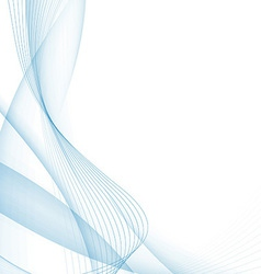Modern blue certificate abstract background vector image vector image
