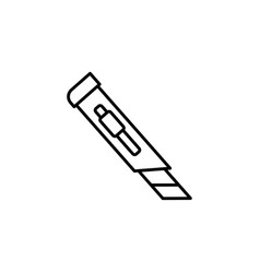 cutter icon vector image