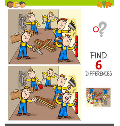 Find differences game with builders vector