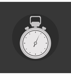 Sport timer equipment vector