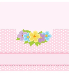 Blank background for greetings card vector image