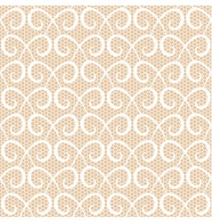 Abstract repeating swirls seamless pattern vector image