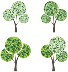 art season trees vector image