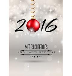 Christmas monoBall V vector image