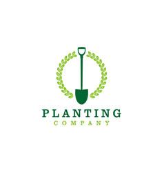 Farming logo design - farmer farm agriculture vector