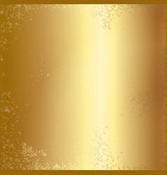 Gold foil texture background vector