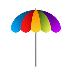 isolated umbrella icon vector image
