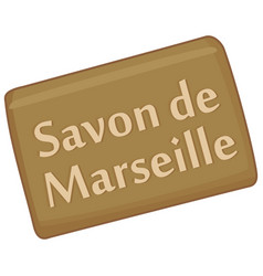 Marseille soap vector