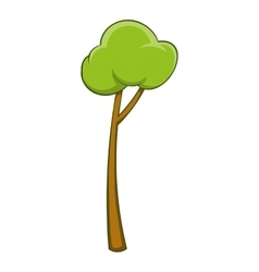 Sapling icon cartoon style vector