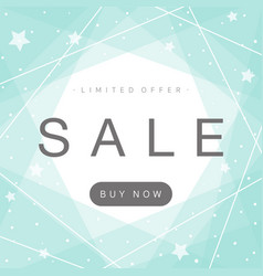 simple and stylish sale background vector image