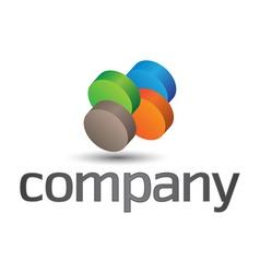 company design element vector image vector image