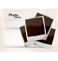 Photoframes vector image