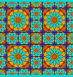 arabic ornamental pattern vector image