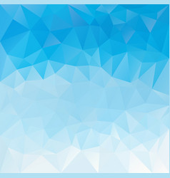 abstract irregular polygon background dky blue vector image