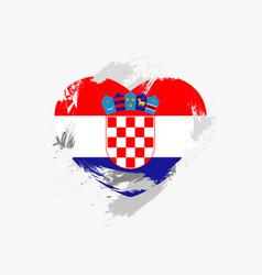 flag of croatia vector image