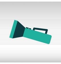 Flash light icon design vector