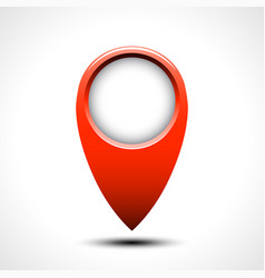 map locations icon vector image