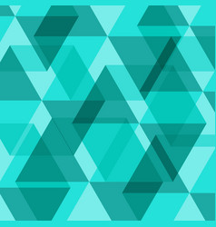 abstract green geometric template background vector image