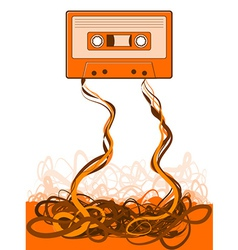 Old Skool Tape vector image vector image