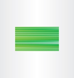 green business card background gradient template vector image
