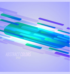 colors shapes abstract on a purple vector image