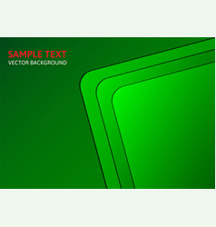 Green template abstract background with copy space vector