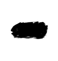 Ink brush stroke rectangular shape vector