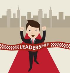 Leadership concept vector