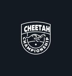 the image a cheetah vector image