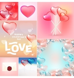 Valentine set vector
