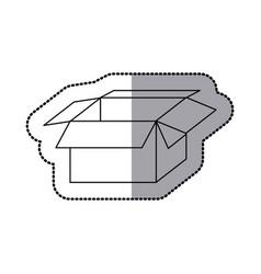 box open icon stock image vector image