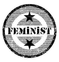 feminist vector image