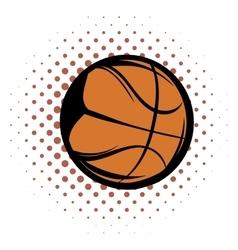 Basketball comics icon vector image vector image