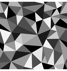 Abstract seamless rumpled triangular pattern vector image