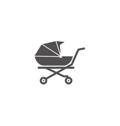 baby cart icon design template isolated vector image
