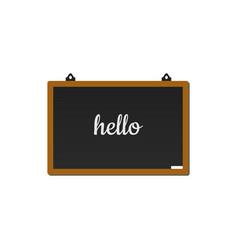blackboard graphic design template vector image