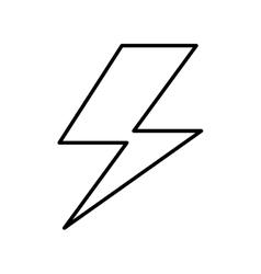 ray energy symbol icon vector image