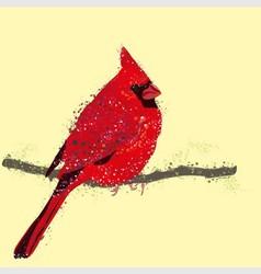 Red Cardinal vector