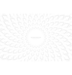 White 3d arrows vector