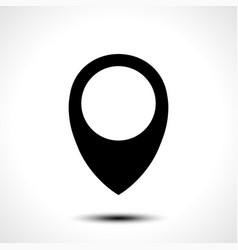 map locations icon vector image vector image
