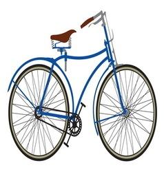 Retro bike2 resize vector image