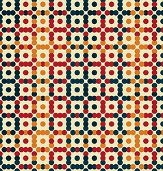 vintage points seamless pattern vector image vector image