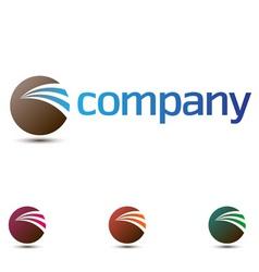 company logo vector image vector image