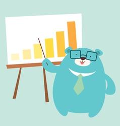 Bear graph vector