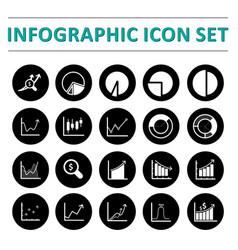 Infographic icon set vector