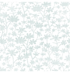 abstract gray bush leaves textile seamless pattern vector image